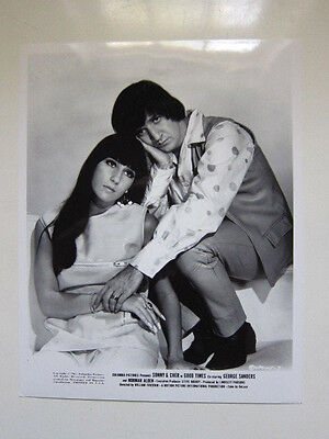 SONNY AND CHER  Good Times  8x10 photo