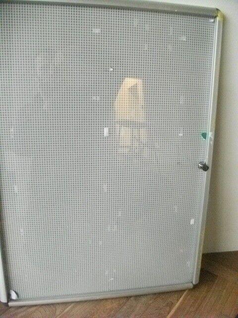Single Door Tamperproof Noticeboard