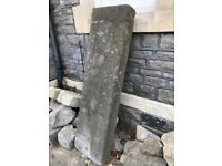 Hand Cropped Capping Stone 1300 x 360 x 660mm