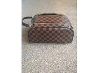 Louis Vuitton Monogram Double Zip Toiletries Bag - Never Used