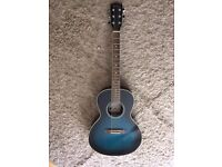 Acoustic Guitar in Teal Colour - Like New - Paddington/Westbourne