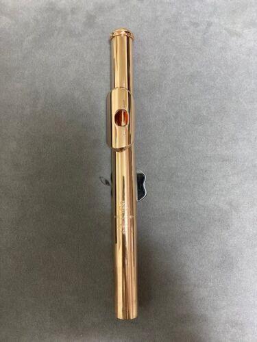 J.R. Lafin 14K Rose Gold Flute Headjoint - MINT
