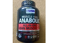 USN Muscle Fuel ANABOLIC All-in-one Lean Muscle, 2kg, BNIB