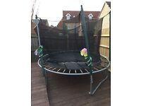 8ft trampoline- no enclusure included