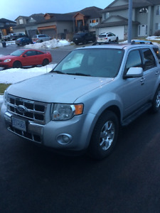Price Drop 2009 Ford Escape Limited SUV, Crossover