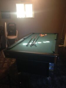 4' x 8' Pool Table and Accessories.