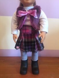 Our Generation Dolls Clothes - A Taid Plaid (doll not included)