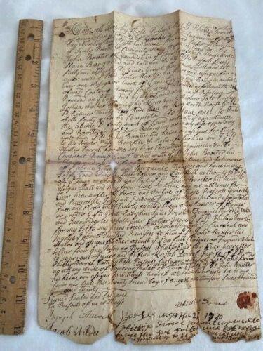 1730 Arundel Kennebunkport Deed Kennebunk River Phillip Durrell Indian Captive