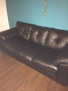 Black Couch and Love Seat Combo