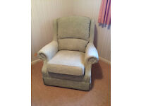 Single Very Comfortable Armchair. Purchased for Elderly Relative but Seldom Used. Delivery Possible.