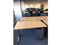 1200mm Beech Desks 2nduser