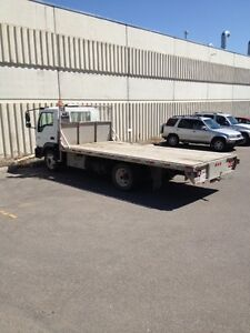 2006 International C600 V275 Tilt Cab Deck Truck