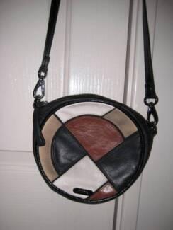 Mimco Leather Shoulder Handbag