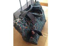 Multi Coloured Black/Green/Orange KIPLING Handbag