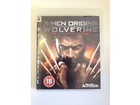 PS3 Game *X-Men Origins - Wolverine* Uncaged Edition With Booklet
