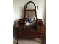 Edwardian bedroom furniture suite - price reduced for quick sale!