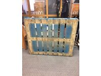 4x Wooden Pallets for collection only
