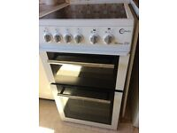 Flavel electric ceramic cooker in white nearly new immaculate