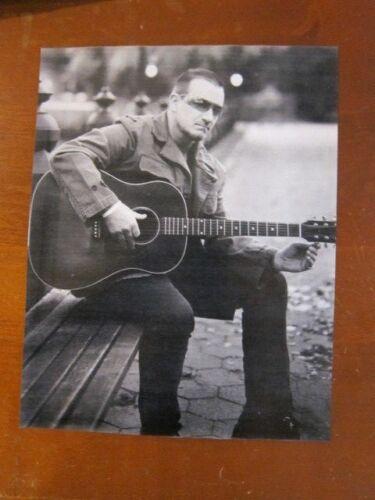 U2    8X10  photo b