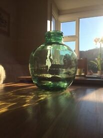Storage jar, Glass Large