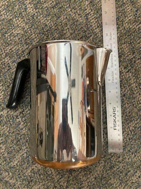 Complete REVERE WARE Coffee Pot 8 Cup Percolator Stove Top C