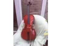 STANTOR 2 CELLO, 1/2 SIZE. VERY GOOD CONDITION