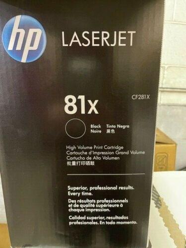 4 Virgin Genuine Empty HP 81X Laser Toner Cartridges FREE SHIPPING CF281X