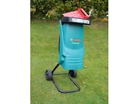 GARDEN SHREDDER BOSCH AXT 2200 hardly used.