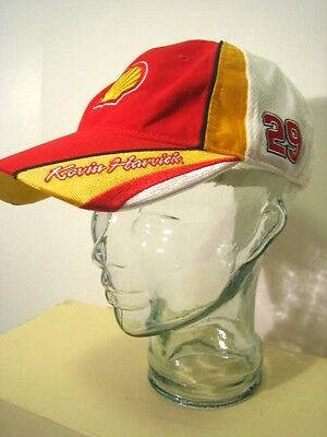 Red & Yellow NASCAR Racing Shell Penzoil KEVIN HARVICK #29 Baseball Cap NWT for sale  Shipping to Canada