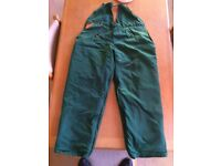 Stihl green seatless chainsaw protective Trousers