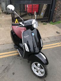 2015 ABS Piaggio Vespa Primavera 125 in Black great condition