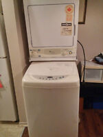 stakeable Washer and Dryer