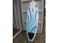 NSP production surfboard in great condition with leash