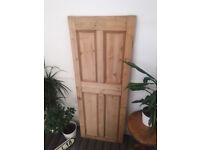 Victorian Style 4 panel door