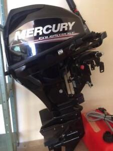Outboard 15HP Mercury - purchase but never used
