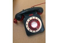 Rotary Phone - reconditioned rotary phone 'mod style' target design.