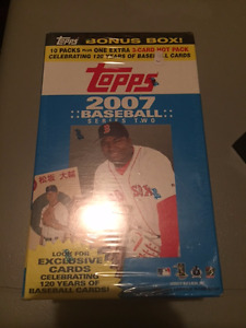 2007 Topps Series 2 Baseball cards Sealed Wax Box