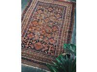 ADIRA - Antique Traditional Vintage Persian Wool 197 x 137CM Handmade Carpet Rugs