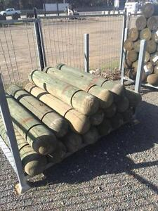 Treated Pine Bollards Beresfield Newcastle Area Preview