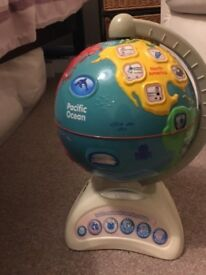 VTech Kids Touch and Teach Interactive Learning Globe Toy