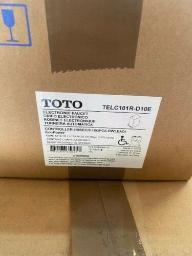 Toto EcoPower Water Supply Controller TELC101R-D10E, for Automatic Faucet System