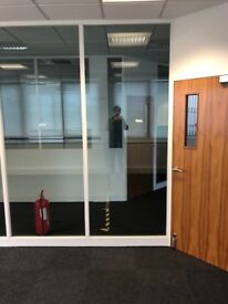 Office Doors & Partition Walls - FREE To Collector