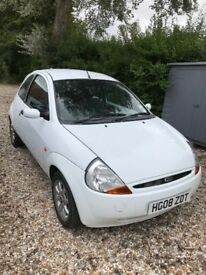 2008 Ford KA Zetech Climate, Low Mileage 1.3 Litre, Petrol. Cheap Insurance. Perfect first car