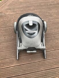 Fold-able Baby Pram in good condition (Free new carry cot and maxi cosi car sit adapter)