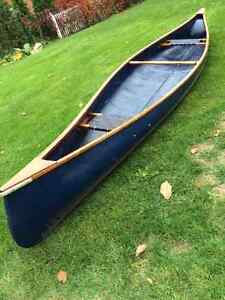 Canoe, fibreglass, 16 foot