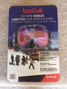 Bolle Ski/Snow Goggles - Brand new, in package