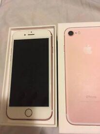 iPhone 7 256GB Rose Gold, Tesco/O2