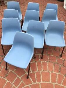 10 small  plastic childrens chairs Bexley Rockdale Area Preview