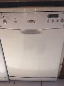 Whirlpool 6th Sense AAA Freestanding Dishwasher