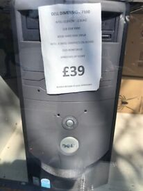 Dell Dimension 7100 Base unit refurbished with warranty